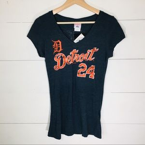 DETROIT TIGERS Cabrera T-shirt Women's MEDIUM NEW